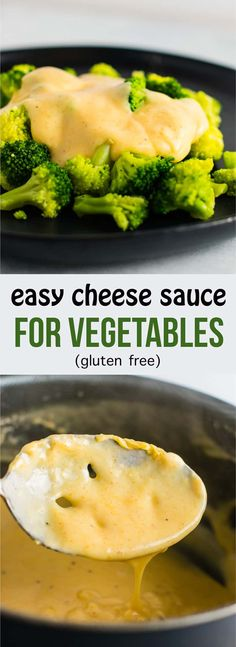 Easy cheddar cheese sauce for vegetables. A great way to get your kids to eat more veggies! (gluten free) #cheddarcheesesauce #cheesesauceforbroccoli #cheesesauce #glutenfree #dinner #vegetables