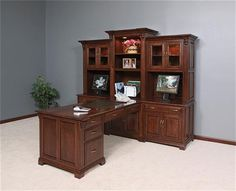 good home office furniture for two people the peninsula desk makes