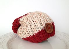 Slouchy knitted fall/winter hat for baby 100 by TinyLoveGifts, $17.00