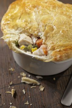 Turkey Potpie with Phyllo Crust  - CountryLiving.com