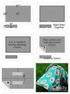 43 Super Ideas For Baby Items Diy Sewing Projects Fun Car Seat Canopy Pattern, Car Seat Cover Pattern, Diy Sewing Projects, Sewing Projects For Beginners, Knitting Projects, Sewing Ideas, Diy Seat Covers, Kids Canopy, Baby Boy Gifts