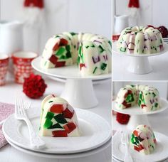 Creative Ideas - DIY Attractive Christmas Jello | iCreativeIdeas.com Follow Us on Facebook --> https://www.facebook.com/iCreativeIdeas