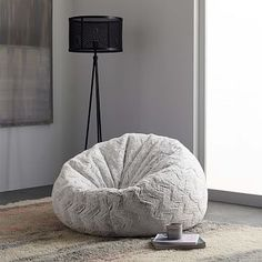 West Elm offers modern furniture and home decor featuring inspiring designs and colors. Create a stylish space with home accessories from West Elm. Chevron Home Decor, Retro Home Decor, Faux Fur Bean Bag, Bean Bag Sofa, Cute Room Decor, Dream Bedroom, Home Decor Accessories, Home Decor Inspiration, Girl Room