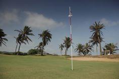 Los campos de Barranquilla tienen fuertes vientos que aumentan la dificultad del juego. Todo un Carnaval de Golf.