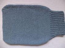 Strampelsack Schurwolle 50cm Pucksack gestrickt