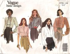 Check out this item in my Etsy shop https://www.etsy.com/listing/239143771/vintage-vogue-1042-1990-sewing-patterns