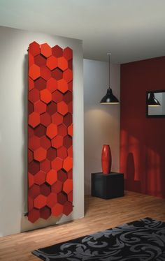 When you think of radiators, do the words plain and boring come to mind? Read on for 20 marvelously designed radiators that will not only warm your house, but Designer Radiator, Interior Decorating, Interior Design, Villa, Wall Wallpaper, Textured Walls, House Colors, Home Buying, Creative Design