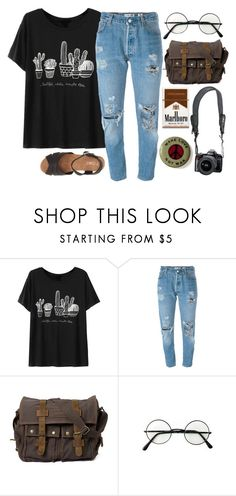 """""""Untitled #117"""" by jaded136 ❤ liked on Polyvore featuring Chicnova Fashion, Levi's, Reef and TOMS"""