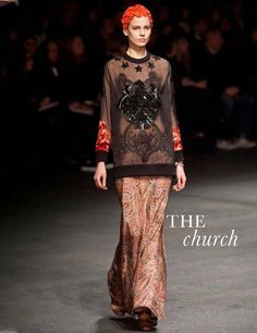 The Church - Givenchy - The top 10 trends for autumn/winter 2013 | ELLE UK