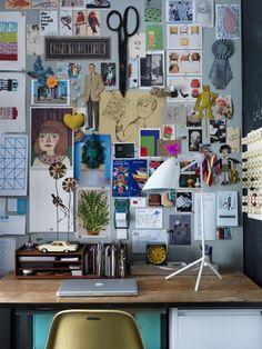 Un bureau des plus inspirants! #deco #bureau #office