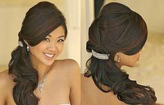 Long Side Ponytail Hairstyles for Prom Party Images - New Hairstyles, Haircuts & Hair Color Ideas