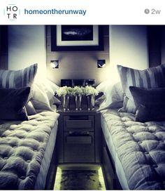 Spare bedroom idea... for friends .. kids wont appreciate the elegance