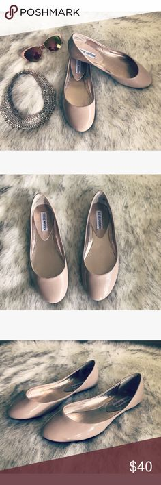 Steve Madden flats   Gorgeous flats in cream color size 7.5 never worn  Steve Madden Shoes Flats & Loafers