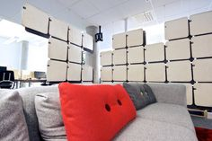 Space dividers | Partitions-Space dividers | FeltTile. Check it out on Architonic