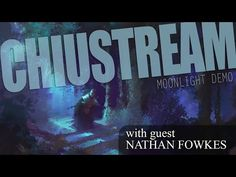 In this ChiuStream, Nathan Fowkes demos how to paint a moonlight scene. Nathan joins Bobby Chiu as they answer questions, give their insight on traditional p. Nathan Fowkes, Painting Process, Brainstorm, Gouache, Art Tutorials, Moonlight, Bobby, Anatomy, Insight