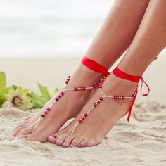Silver Color Myhouse Boho Alloy Rhinestone Anklets Multilayer Sandal Beach Foot Chain Anklet Ankle Bracelet for Women Girls