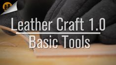 Krik of Black Owl Outdoors shows you the basic tools needed to start leather working and demonstrates their uses and design. Connect with us: website | http:...