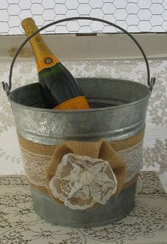 Champagne Bucket  - Going to make it a little more nautical!