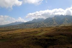 Distant View of Aso Mountains