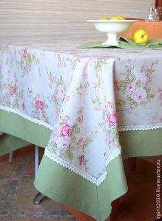 """Скатерть """"Английская роза"""". Handmade."""