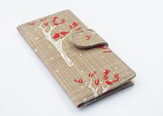 Vegan Wallet Woodland Birds Wallet Women's by BrooklynLoveDesigns, $50.00