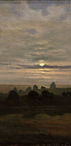 Carl Gustav Carus - Stone Age Mound (detail)