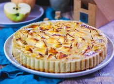 Tarte normande recette Blog Patisserie, Apple Pie, Pancakes, Muffin, Breakfast, Healthy, Desserts, Pralines Roses, Couture