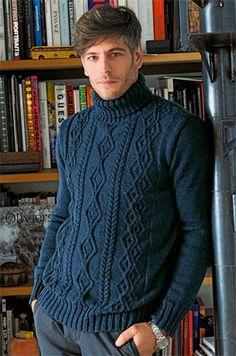Bergere de France Turtleneck Sweater Pattern
