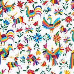 Resultado de imagen para diseños de flores mexicanas