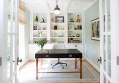 "Interior Design Ideas - ""Walls Paint Color"" (Farrow and Ball Light Blue)"