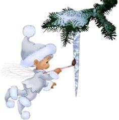 Зимние персонажи - Новогодний и зимний клипарт - Кира-скрап - клипарт и рамки на…
