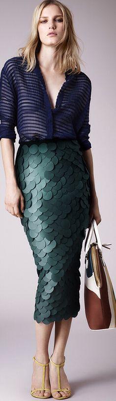 #Burberry Prorsum Resort 2015#Fashion Week Fashion Shows and Collections@luxurydotcom via#Vogue