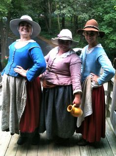 Lovely group of middle class Tudor ladies