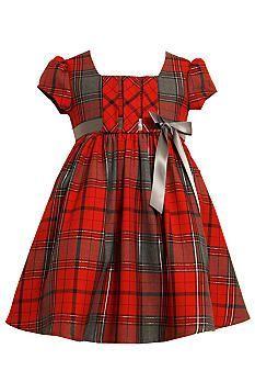 Bonnie Jean® Plaid Dress Toddler Girls #belk #kids #patterns