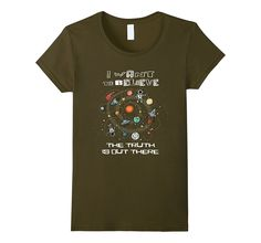 World UFO Day - I Want to Believe T-shirt