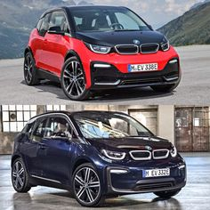 Photo Comparison: BMW i3 vs BMW i3S : For the first time ever BMW is offering a sportier variant of the i3 something fans have been clamoring for since it debuted in 2014. The new BMW i3S should bring quite a few fans of the brand over to the electric dark side thanks to its sportier dynamics. In terms of actually sporty differences the BMW i3S gets some more power 184 hp and 199 lb-ft of torque versus the standard cars 170 hp and 184 lb-ft. That extra power helps it get form 0-60 mph in 6.8…
