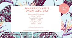 Sample & Stock Sale Studio 10 -- Erpe-Mere -- 10/05-12/05