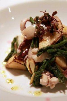 Beautiful octopus dish