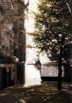 Gerhard Richter ~ Cathedral Corner, 1987