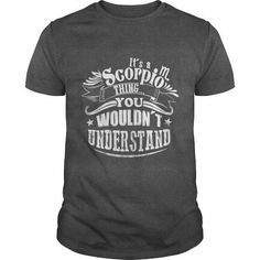 Awesome Tee Its a Scorpio Thing Shirts & Tees