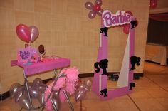 """Photo 1 of Barbie Glam / Birthday """"Alexxa's birthday party"""" Barbie Party Decorations, Barbie Theme Party, Barbie Birthday Party, 4th Birthday Parties, 7th Birthday, Party Themes, Party Ideas, Birthday Ideas, Barbie Box"""