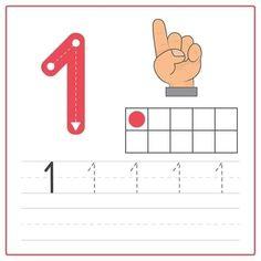 Preschool Forms, Numbers Preschool, Preschool Activities, Kindergarten Math Worksheets, Kindergarten Writing, Alphabet Letter Crafts, Numbers For Kids, Autism Activities, Math For Kids