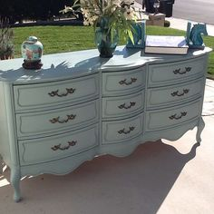 Vintage French Provincial Dresser by by ProvincialbutFrench, $1100.00