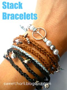 Cute stack bracelets to make just like Bachelorette Emily's!