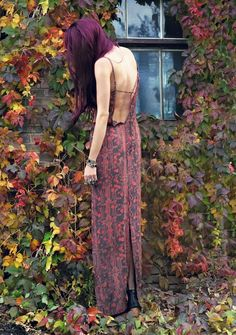 The Boho Garden - I'd like to try this hair color!