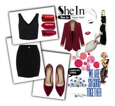 """""""SheIn"""" by ernaa0 ❤ liked on Polyvore featuring Clinique and ESPRIT"""