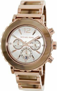 Michael Kors Lillie Chronograph Rose Gold-Tone Ladies Watch MK5791