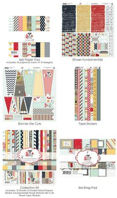 Fancy Pants: The Good Life Collection #scrapbooking #chashow