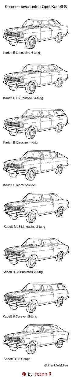 The Opel Kadett B was launched by Opel at the Frankfurt Motor Show (Germany) in…