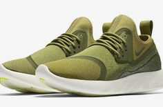 Official Images Of The Nike LunarCharge Essential Camper Green
